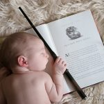 Harry Potter Newborn Photos - Baby Aurora